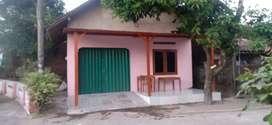 Rumah ngadep jln aspal kampung