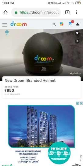 Helmet brand new pack