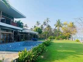 Ernakulam edakochi waterfront 1.15acre land 12000sqt luxury house 23cr