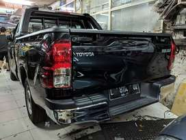 Bemper belakang hilux revo original bumper