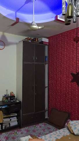 My house is 1bhk comprising of 1 bedroom hall, kitchen and bathroom.