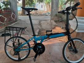 Sepeda Foldx xfive thn 2019 bukan fnhon,dahon,brompton,pikes,trifold