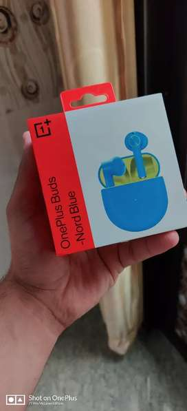 New Oneplus Buds Nord Blue Color