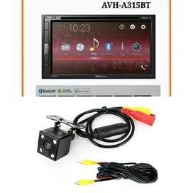 Plus Pasang Pioneer AVH-A315BT MIRRORLINK + Kamera mundur