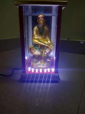 Sai Baba Statue with LED Lights