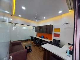 LAVISH FURNISHED OFFICE ON RENT VERY PRIME LOCATION