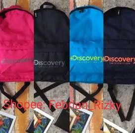Tas Punggung / Tas Ransel / Backpack DISCOVERY / Tas Unisex