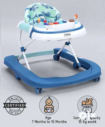 Brand New Babyhug 2-in-1 Activity Walker With 3 Level Height Adjust