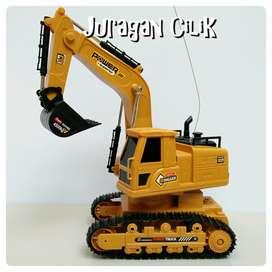 Mainan Mobil Remot Excavator RC Truck Remote Control