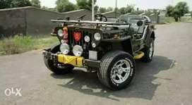 Open Modified Willy's jeep
