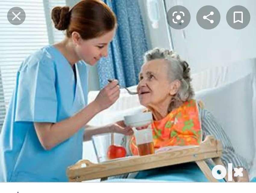 In Indore Home Nurse,Nursing Attendent, caretaker and babysitter