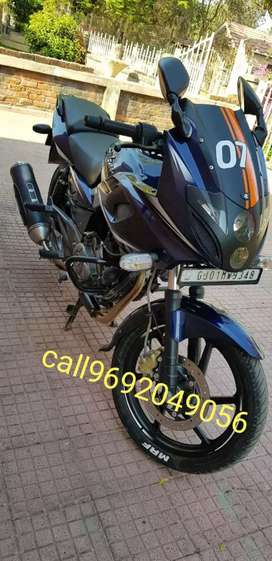 Pulsar 220 with new battery