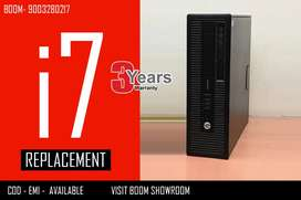 HP cpu i7 Branded - Home Delivery - 3 Years Warranty with Bill