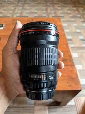 Canon 135mm F2 L lens