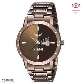 Men Cool Stainless Steel Watch Vol - 2