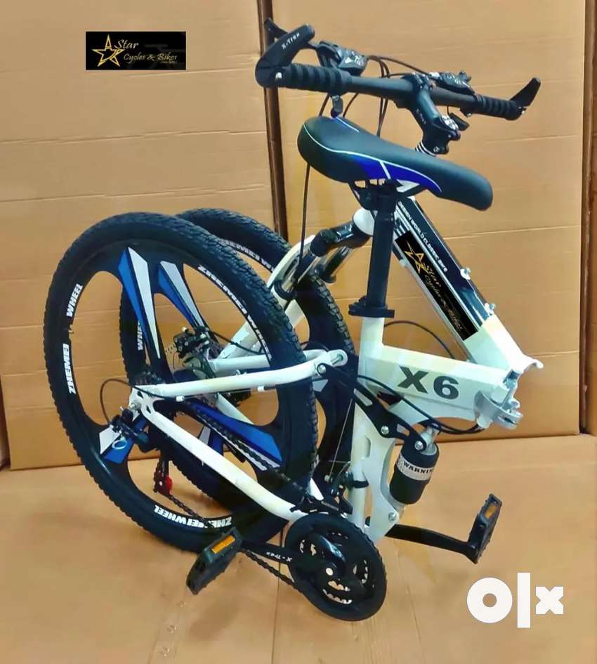 All New Foldable Cycles with 21 Speed Gears Available