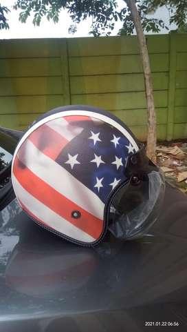 Helm Custom Motor / Sepeda
