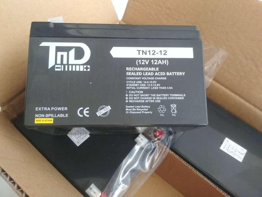Aki sepeda listrik TND 12v 12ah