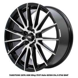stock terbaru hsr wheel type TArutung ring 17 bmf