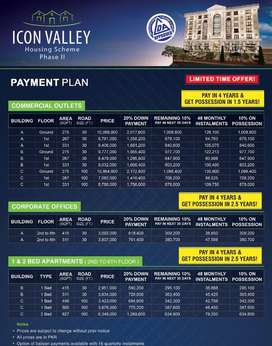 Behtareen location lda approved appartments