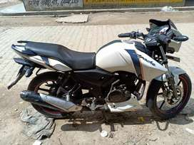 I want to sell my new apache rtr 160