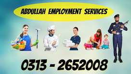We Provide Verified Trained Male & Female All Kinds Of Domestic Staff