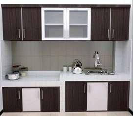 Furniture kitchenset lemari backdrop meja kantor RAA