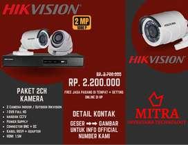 The Big Promo Paket CCTV HIKVISION 2Mp / 5Mp