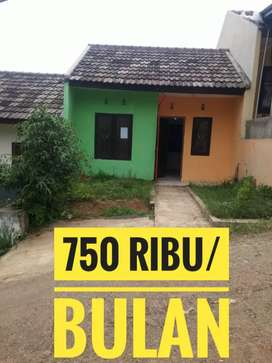 Rumah 750/Bulan di Komplek Bentang Padalarang Regency Blok F2 No 4