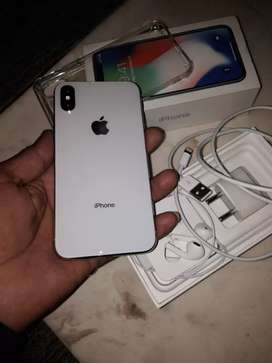 iPhone x 64GB 6 month old available