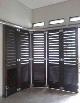 Layanan pasang pintu press bahan kayu bisa request model