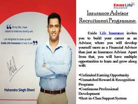 Become An Insurance Advisor @ Exide Life Insurance
