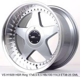 pelek mobil honda ferio-VS H1929 HSR R17X85/95 H8X100-114,3 ET38/25
