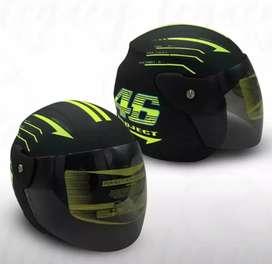 Helm Half Face SNI Valentino Rossi