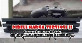 Tawarkan Playstation 3 & 4 Second anda