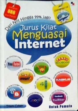 Buku jurus kilat menguasai internet