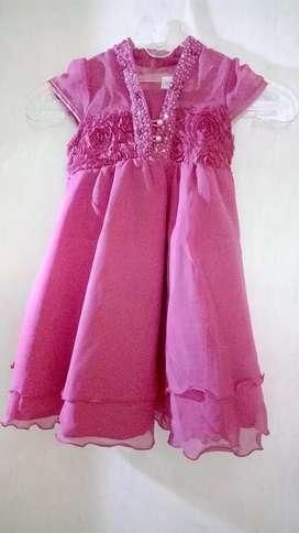 Preloved gaun anak merk Donita