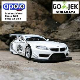 Diecast Apolo Mobil BMW Z4 GT3 | Mainan Anak Pajangan Miniatur