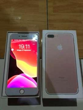 Iphone 7 plus 128Gb rosegold inter ZP/A murah