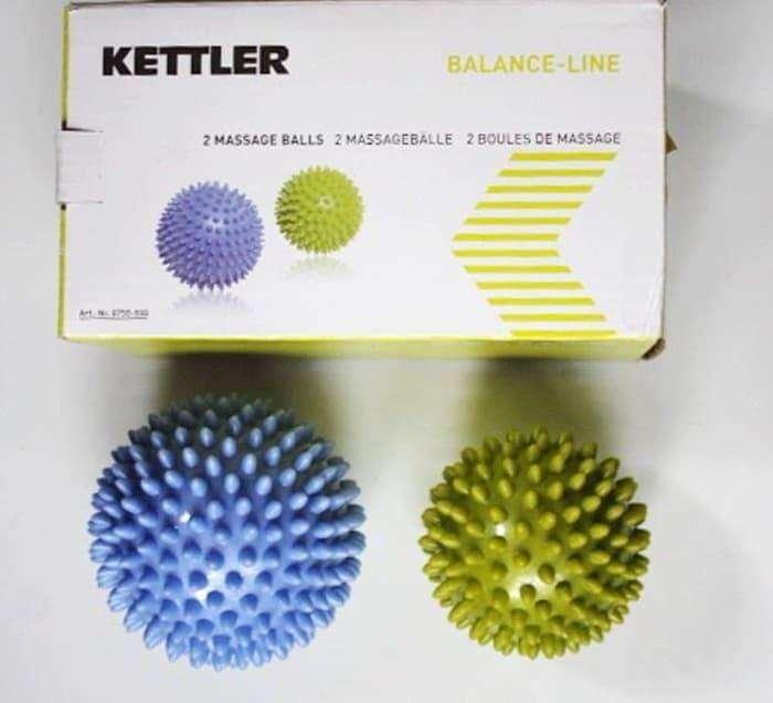 Messages Alls Bola Terapi Pijat 2 Pcs Kettler 0750 Balance Line 0
