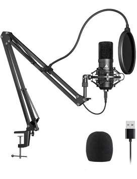 Maono Au-A04 Condenser Microphone Kit (Black)