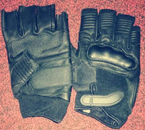 Sports and heavy bike gloves