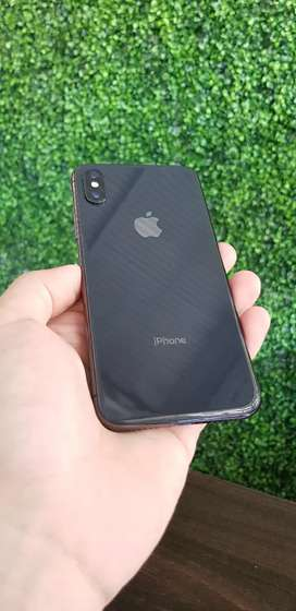 Iphone X 256GB Black Kondisi Mulus No Minus Like New Fullset