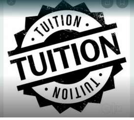 TUITION YOR ALL CLASSES
