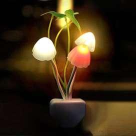 Lampu Tidur Jamur / Mushroom Sensor Cahaya Lampu LED