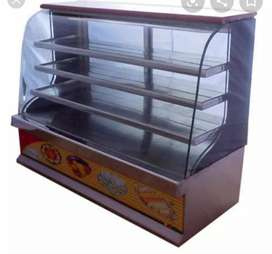 Sweets and bakery refrigerator display type