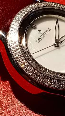 Diamond Watch by Fayendra(SWISS MADE)
