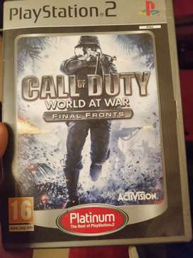 For sale ps2 cod word at war