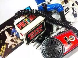Mainan jadul motor chip police 80s.vintage toys.