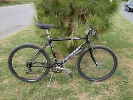 Original japan stell butted frame made mountain bike